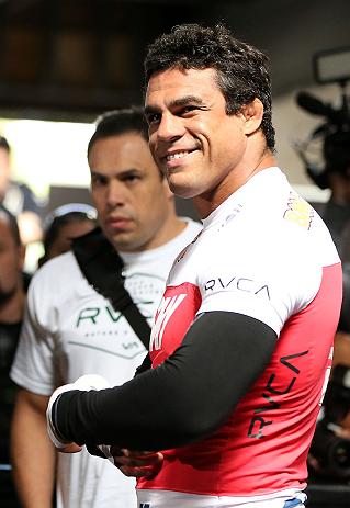 Light heavyweight title challenger Vitor Belfort