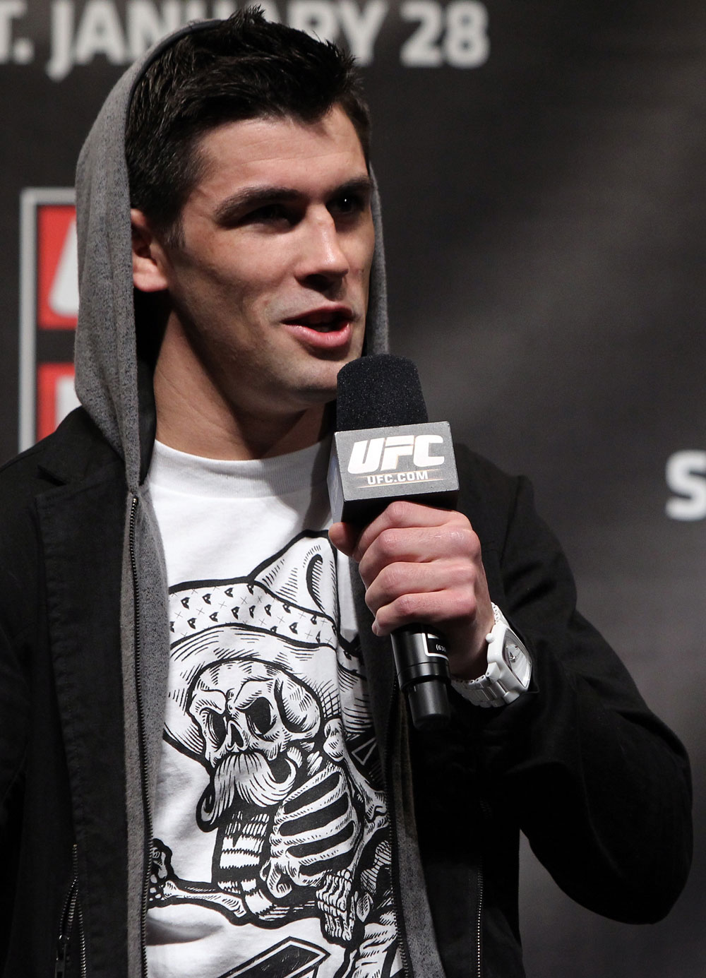 UFC bantamweight champion Dominick Cruz