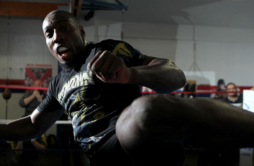 UFC light heavyweight Phil Davis