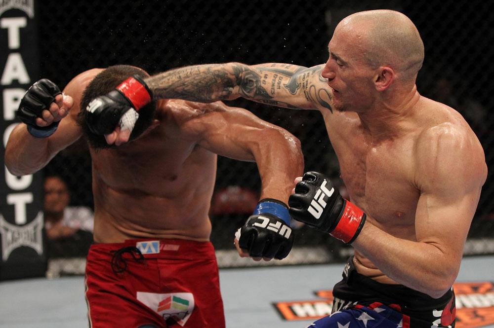 UFC middleweight Buddy Roberts