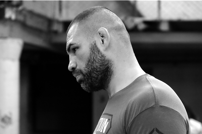 MEXICO CITY - June 3: Cain Velasquez at a recent training session. (Photo by Juan Cardenas/Zuffa LLC)