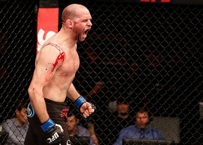 UFC welterweight Kenny Robertson