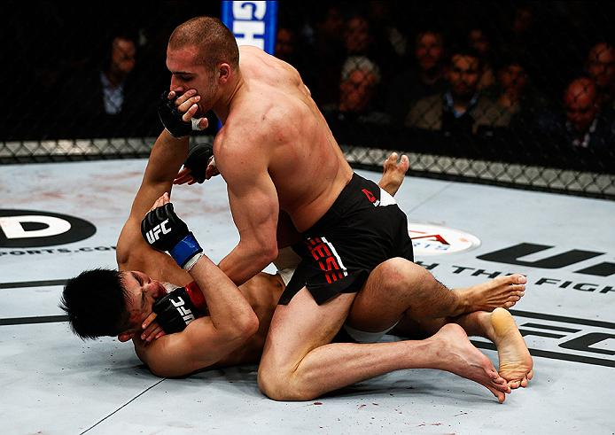 Breese enters the fight undefeated in his MMA career (Photo by Christopher Lee/Getty Images)
