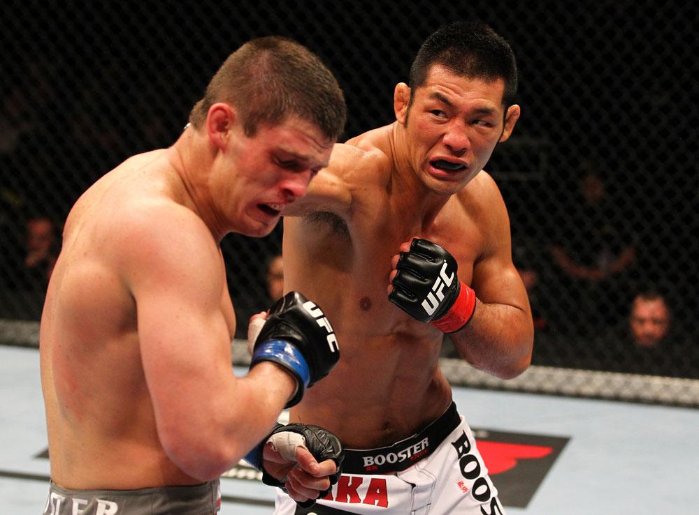 UFC middleweight Riki Fukuda