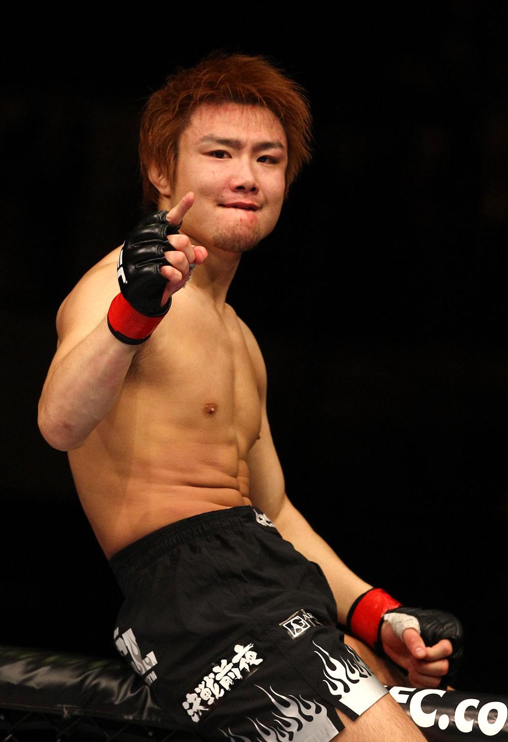 UFC lightweight Takanori Gomi