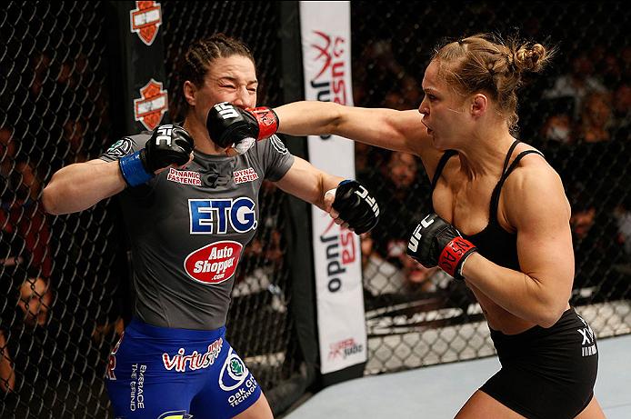 UFC 170: Rousey vs. McMann
