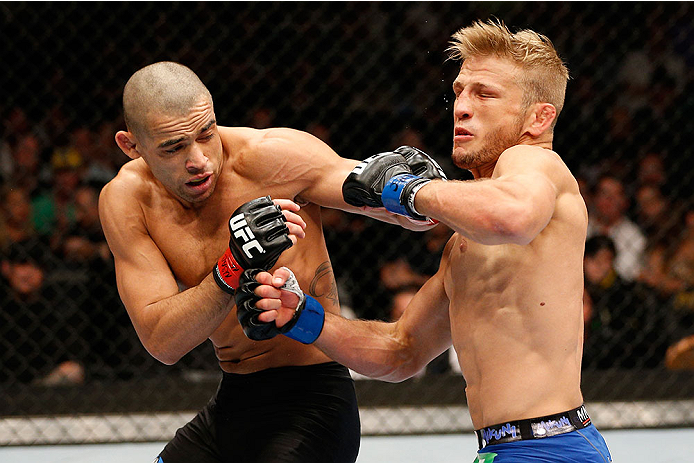 Barao (left) vs. T.J. Dillashaw