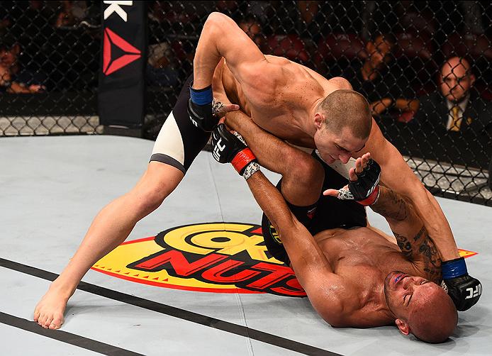 Strickland is 17-1 heading into Saturday's UFC 199 bout (Photo by Todd Warshaw/Zuffa LLC/Zuffa LLC via Getty Images)