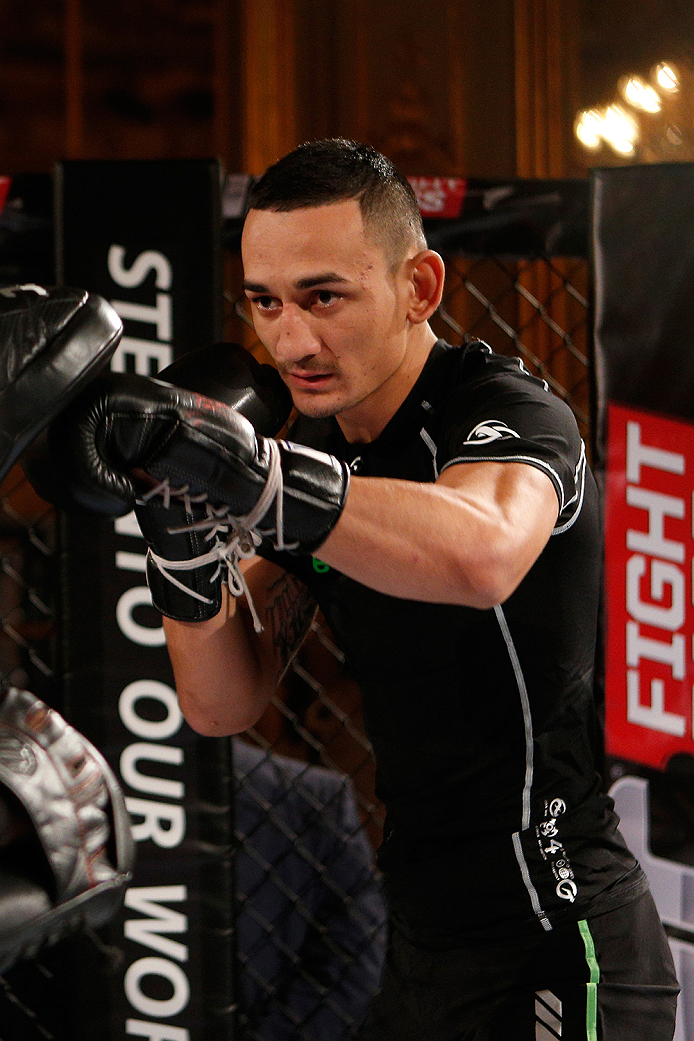 Max Holloway Young Warrior Old Soul Ufc