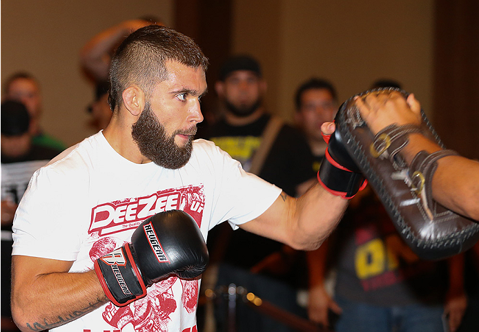 UFC featherweight Jeremy Stephens