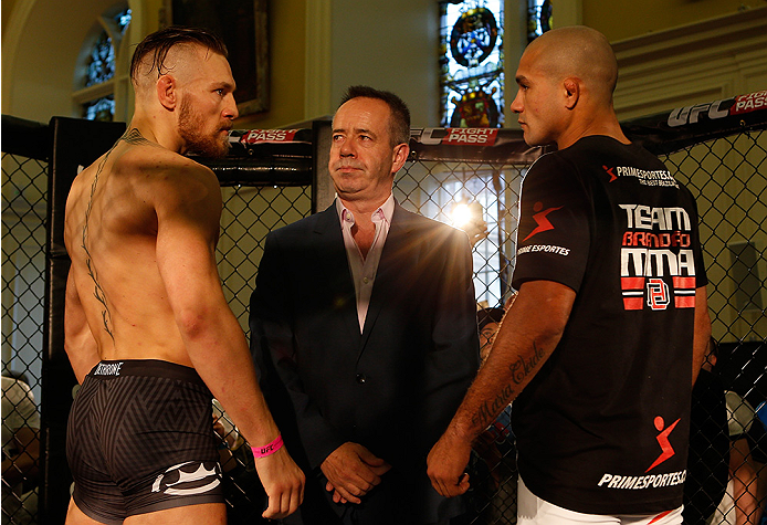 McGregor vs. Brandao