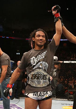 UFC lightweight champion Benson Henderson