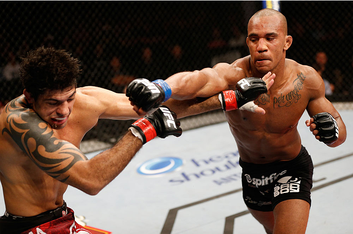 UFC welterweight Nico Musoke