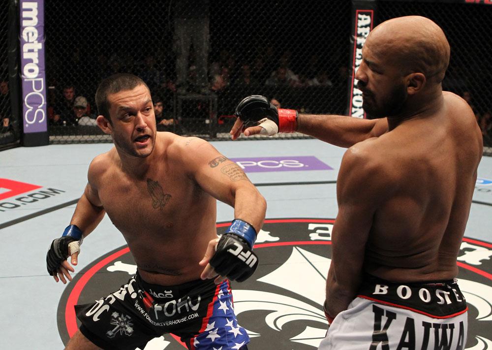 UFC middleweight Tom DeBlass