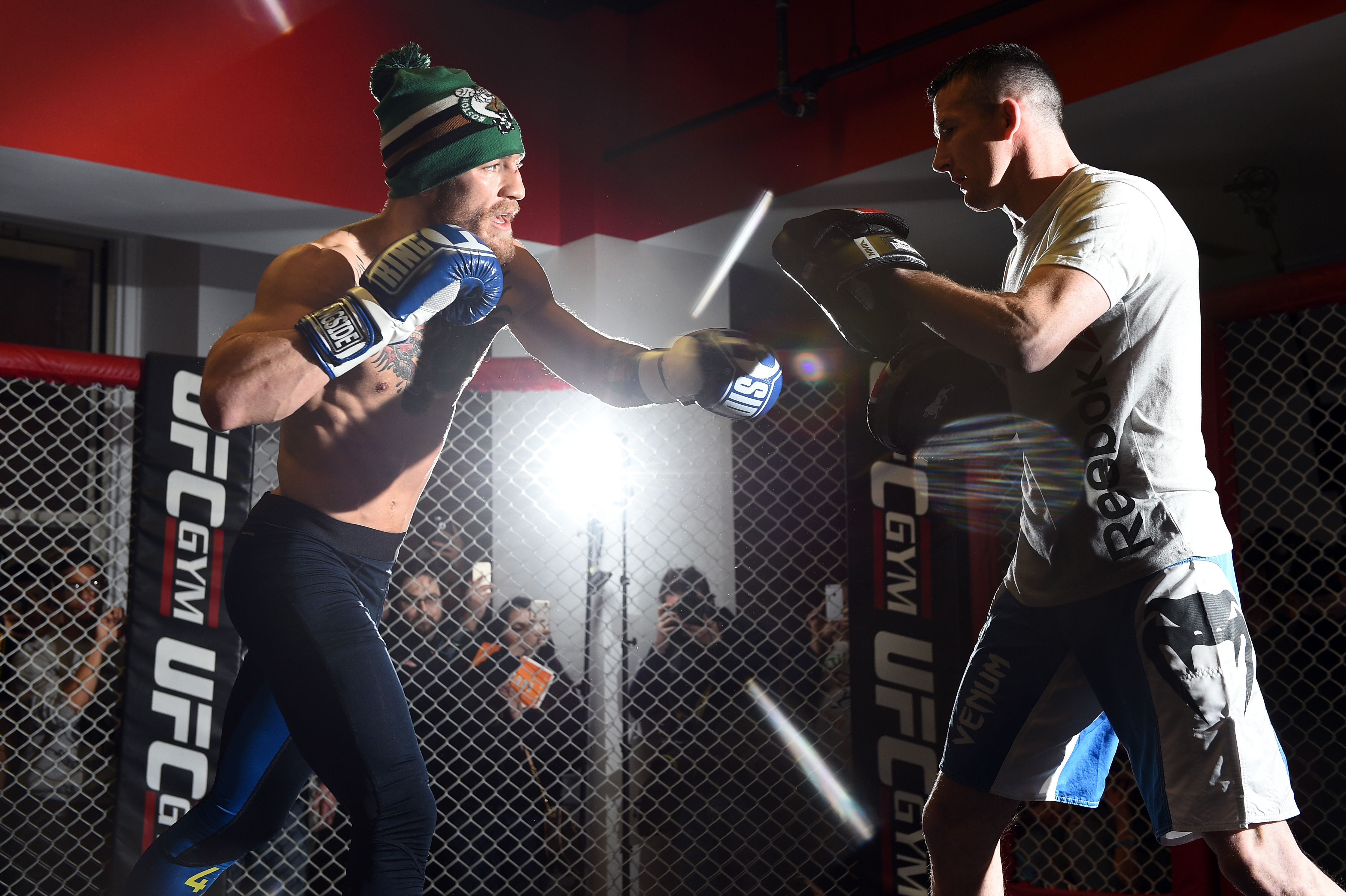 McGregor and Roddy (Jeff Bottari / Getty Image Sport)