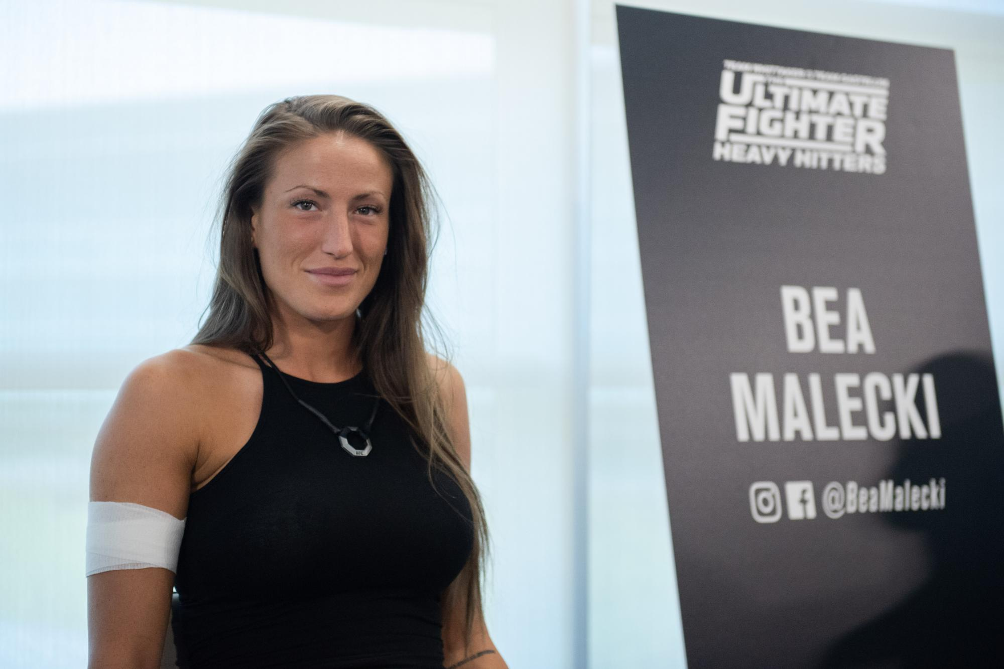 Bea malecki feels lucky in her debut ufc - Background image of div ...