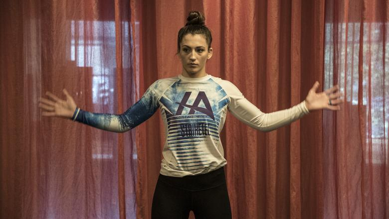 UFC flyweight Montana De La Rosa ahead of her fight at UFC 234 in Melbourne, Australia. (Juan Cardenas/UFC)