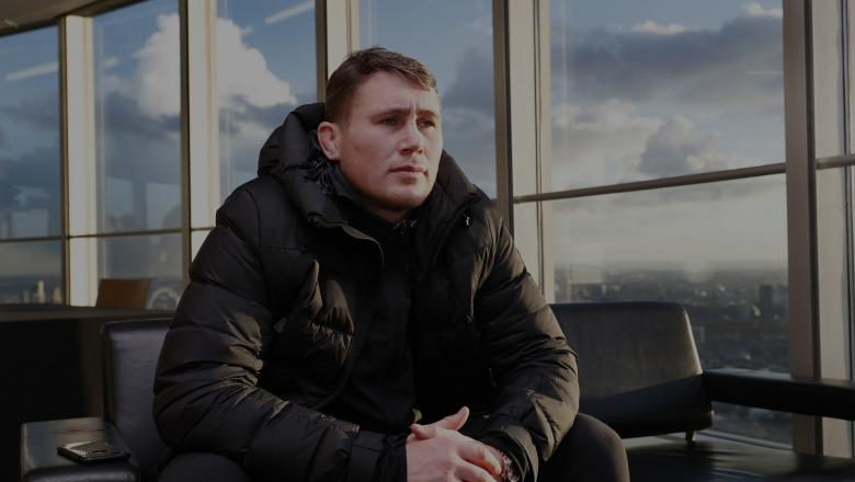 Darren Till, mixed martial artist of England talks to the media during the UFC press confrence at BT Tower on January 30, 2019 in London, England. (Photo by Luke Walker/Zuffa LLC)