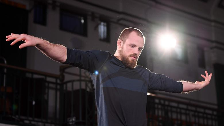 LONDON, ENGLAND - MARCH 13: Gunnar Nelson of Iceland performs an open workout for fans and media during the UFC Fight Night Open Workouts event at York Hall on March 13, 2019 in London, England. (Photo by Jeff Bottari/Zuffa LLC/Zuffa LLC via Getty Images)