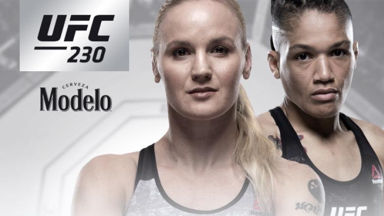UFC 230 Valentina Shevchenko vs Sijara Eubanks
