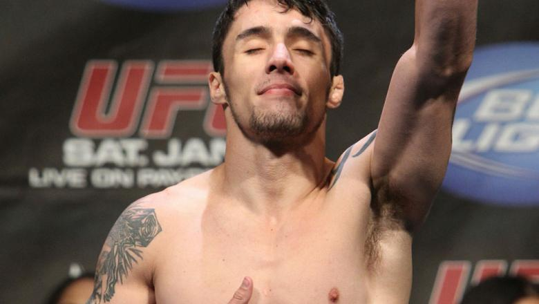 Diego Nunes at the UFC 125 Weigh-in.