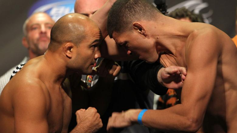 BJ Penn vs Nick Diaz