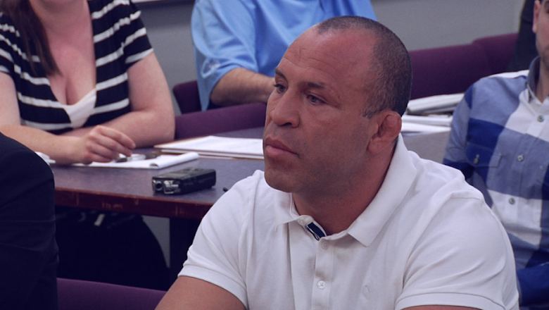 Wanderlei Silva appears before the Nevada State Athletic Commission