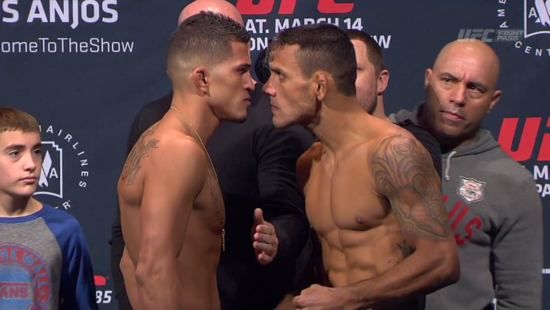 UFC 185 Anthony Pettis vs Rafael dos Anjos