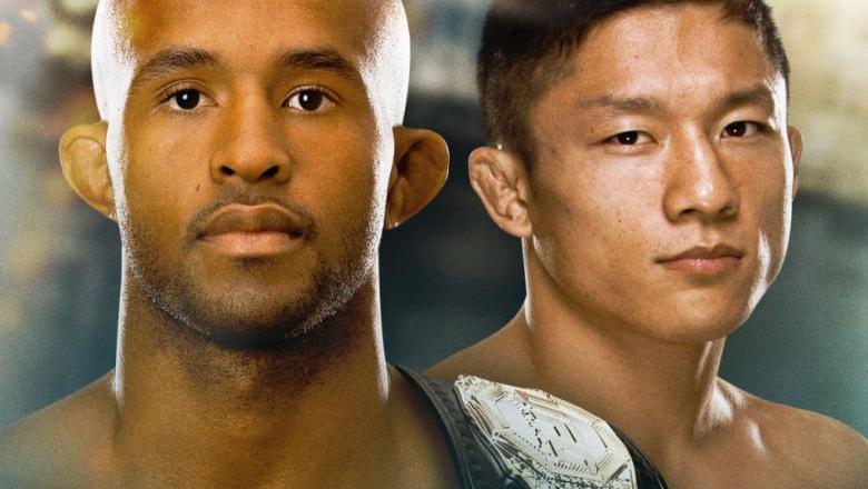 UFC 186 Co-Main Event Demetrious Johnson vs Kyoji Horiguchi