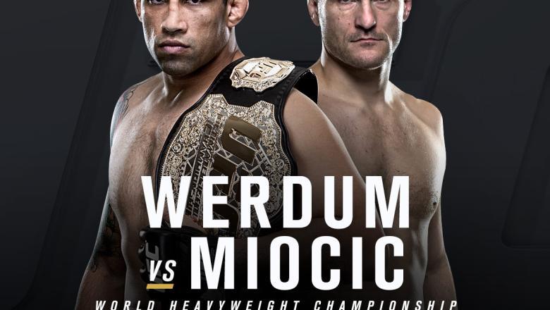 UFC 198 Fabricio Werdum vs. Stipe Miocic