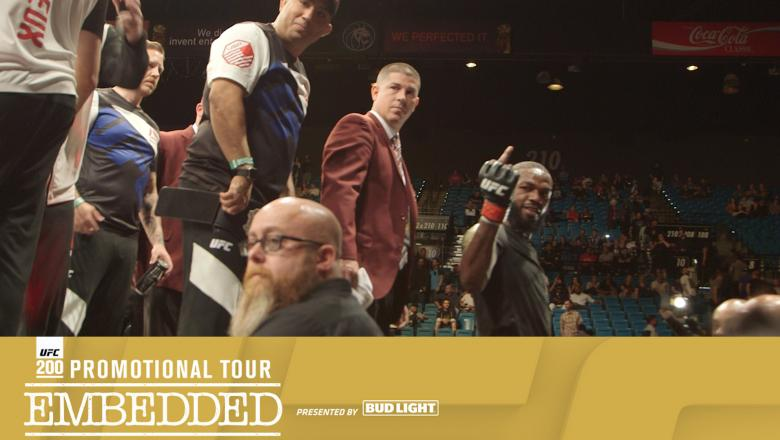 UFC 200 Embedded: Promotional Tour Episode 1 texted version