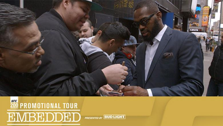 UFC 200 Promotional Tour Embedded