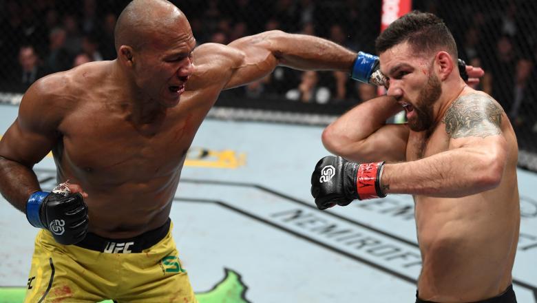 Ronaldo Jacaré nocauteou Chris Weidman no UFC 230