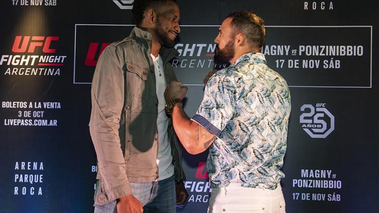 UFC Argentina: Neil Mangy e Santiago Ponzinibbio fazem a primeira luta do UFC no país