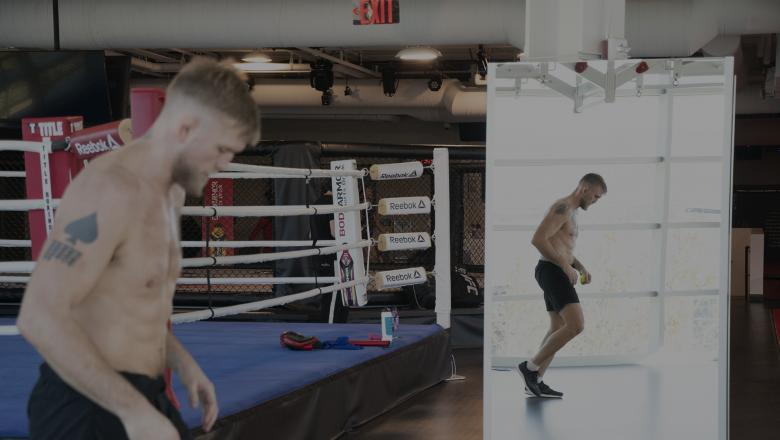 Alexander Gustafsson at the UFC Performance Institute