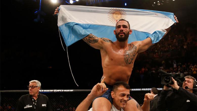 Santiago Ponzinibbio UFC Argentina victory