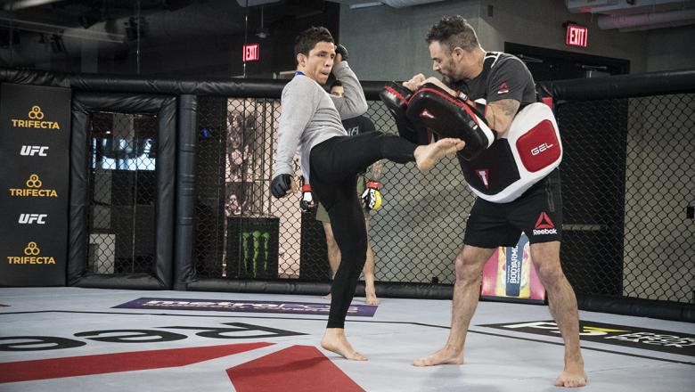 Joseph Benavidez preparing for UFC Brooklyn at the UFC Performance Institute