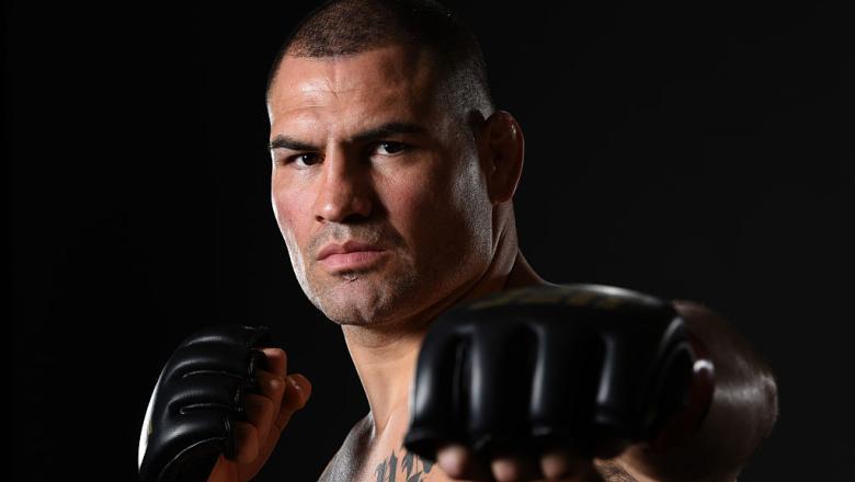 Cain Velasquez post fight UFC 200 portrait