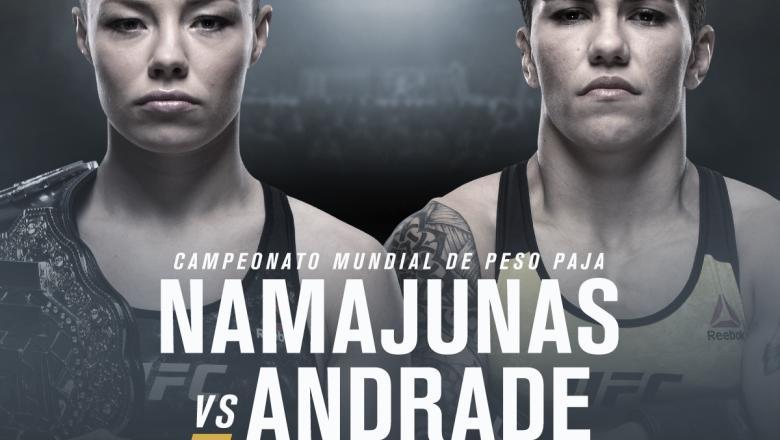 UFC 237 Namajunas vs Andrade spanish announcement