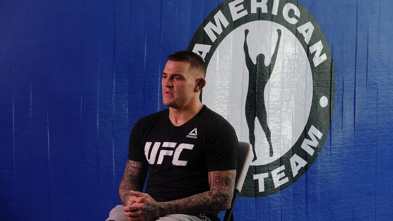 Dustin Poirier, ATT Media Day, 3/26/19