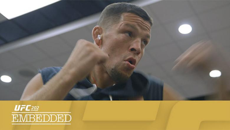UFC 202 Embedded Episode 2 Nate Diaz texted