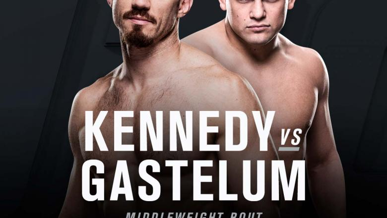 Tim Kennedy vs Kelvin Gastelum at UFC 206 official announcement art