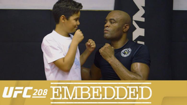 UFC 208 Embedded: Episode 1 Anderson Silva with text