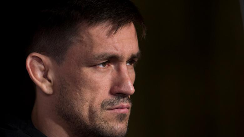 DALLAS, TX - MAY 10:  Demian Maia speaks to the media during the UFC 211 Ultimate Media Day at the House of Blues Dallas on May 10, 2017 in Dallas, Texas. (Photo by Cooper Neill/Zuffa LLC/Zuffa LLC via Getty Images)