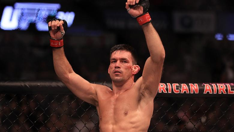 DALLAS, TX - MAY 13:  Demian Maia celebrates after his fight against Jorge Masvidal in their Welterweight bout during UFC 211 at American Airlines Center on May 13, 2017 in Dallas, Texas.  (Photo by Ronald Martinez/Getty Images)