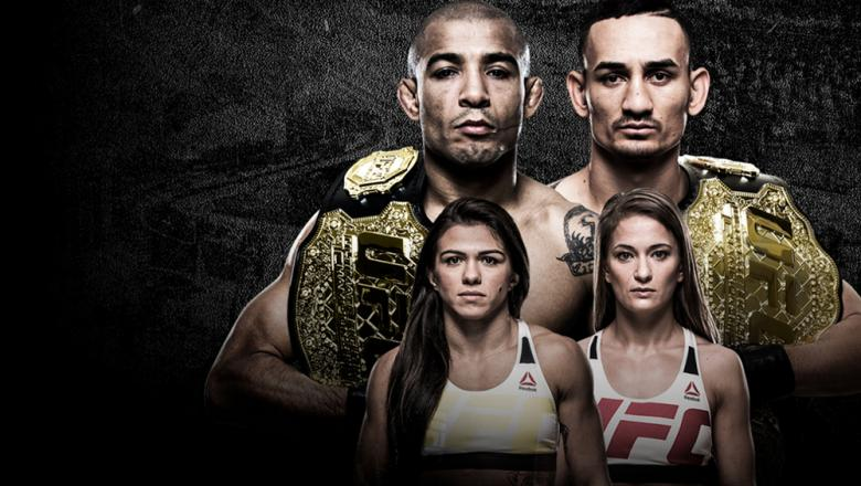 Jose Aldo vs Max Holloway - Claudia Gadelha vs Karolina Kowalkiewicz