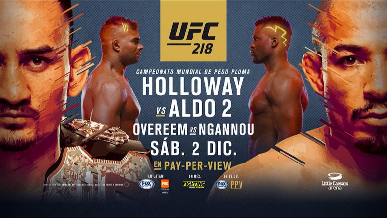 Max Holloway vs Jose Aldo 2 ESP
