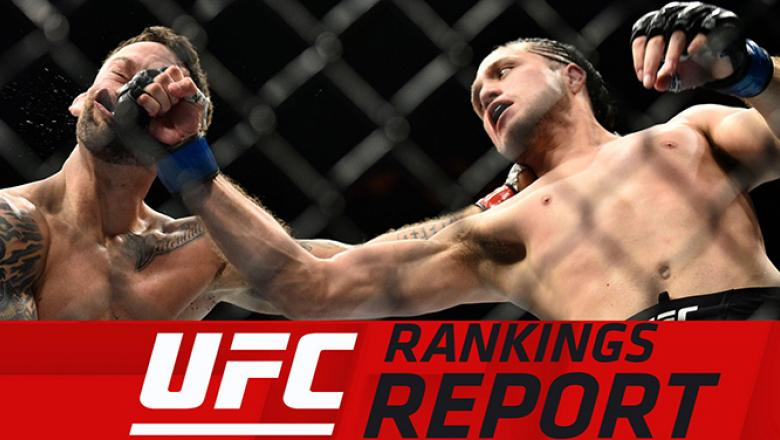Rankings report Brian Ortega