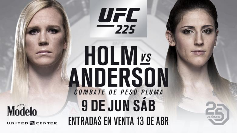 Holly Holm vs Megan Anderson