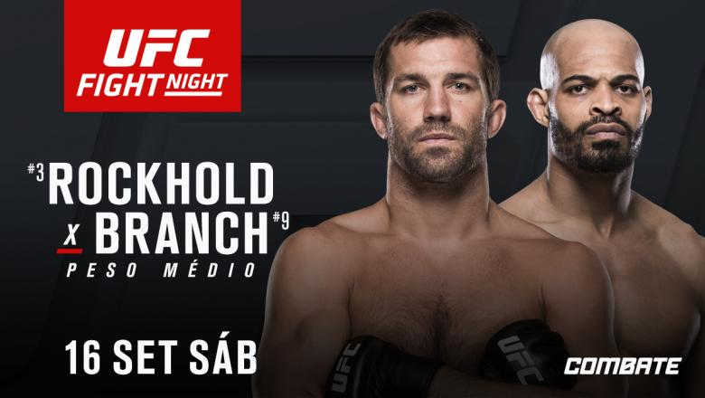 Luke Rockhold David Branch